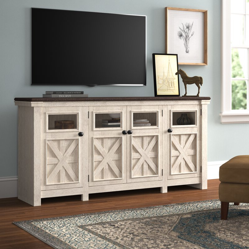 """2017 Three Posts™ Ramsgate Tv Stand For Tvs Up To 85"""" & Reviews With Regard To Bustillos Tv Stands For Tvs Up To 85"""" (View 1 of 25)"""