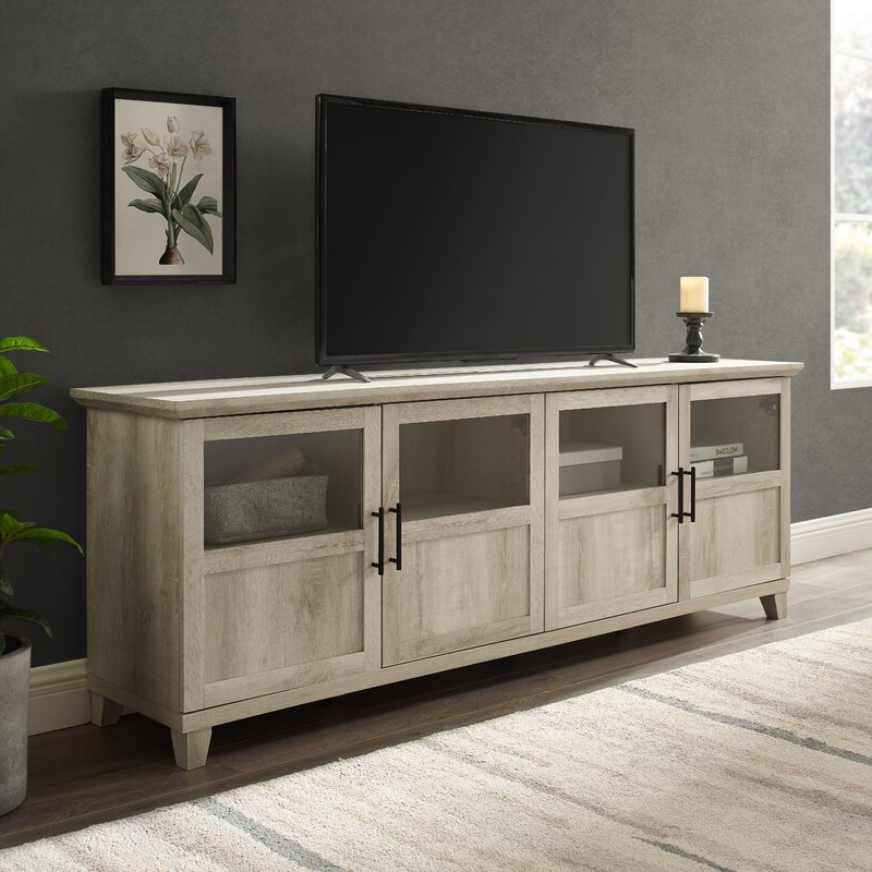 """2017 Three Posts Timpson Tv Stand For Tvs Up To 78"""" & Reviews Within Ansel Tv Stands For Tvs Up To 78"""" (View 12 of 25)"""