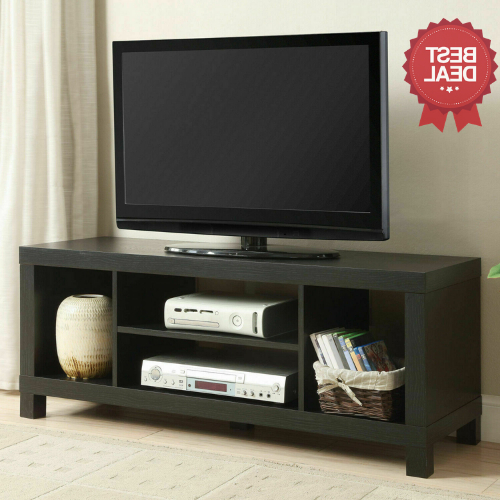 2017 Tv Stand Brown College Dorm Furniture Stereo Media Pertaining To Mainstays 4 Cube Tv Stands In Multiple Finishes (View 6 of 10)