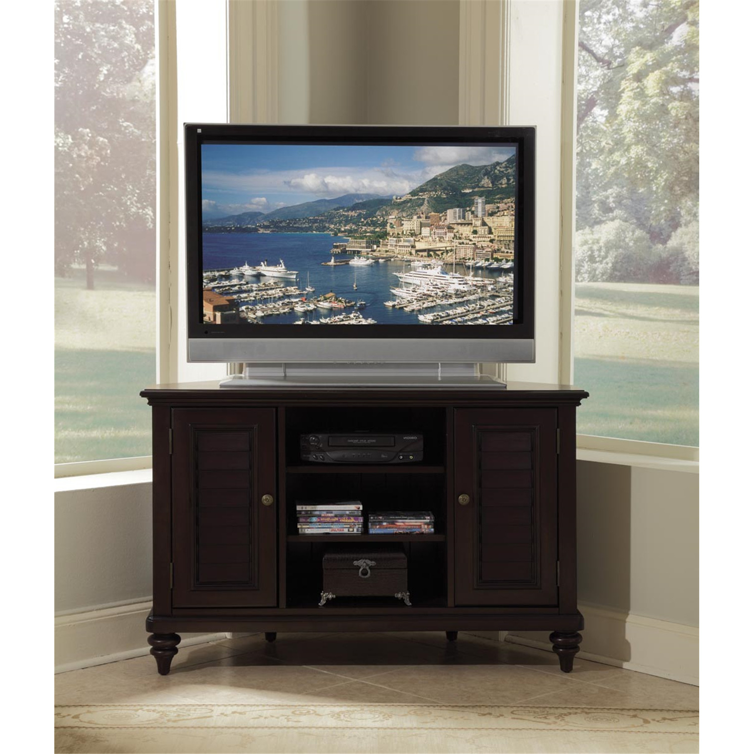 2018 Furniture, Home Goods, Appliances, Athletic Gear, Fitness Pertaining To Priya Corner Tv Stands (View 25 of 25)