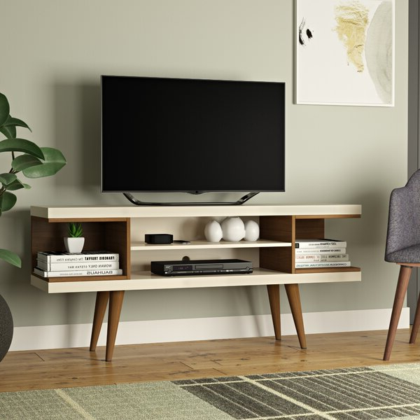 """2018 Hashtag Home Sybil Tv Stand For Tvs Up To 50"""" & Reviews With Caleah Tv Stands For Tvs Up To 50"""" (View 4 of 25)"""