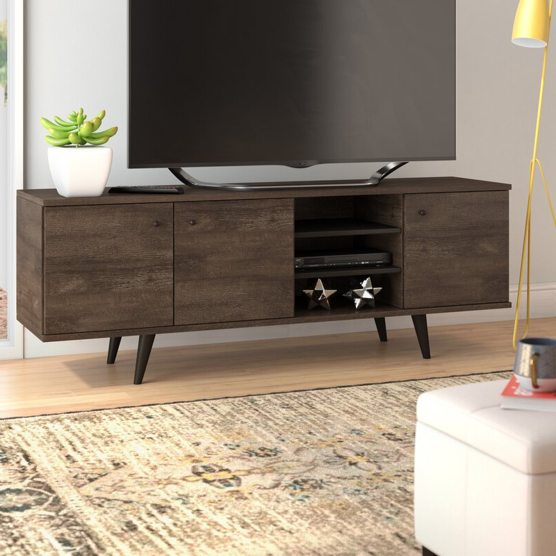 """2018 Langley Street Norloti Tv Stand For Tvs Up To 78 For Grandstaff Tv Stands For Tvs Up To 78"""" (View 7 of 25)"""