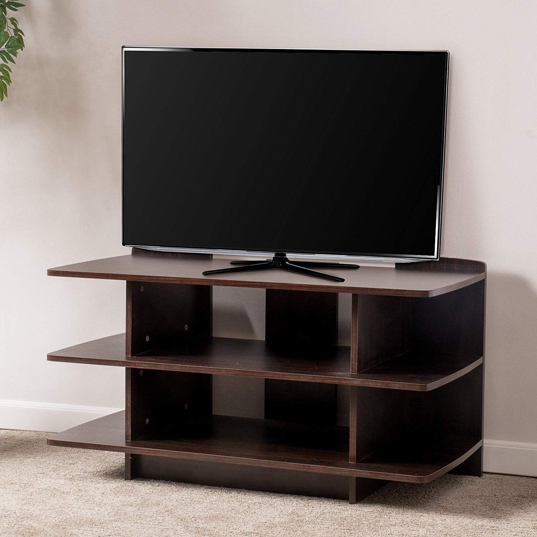 2018 Oakville Corner Tv Stands Regarding Christopher Knight Home 295896 Oakville Tv Stand, Dark (View 6 of 10)