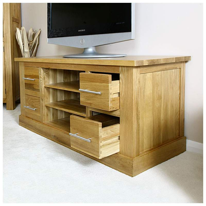 [%50% Off Solid Oak Tv Cabinet Stand With Drawers | Wide For Most Recent Indi Wide Tv Stands|indi Wide Tv Stands Regarding Fashionable 50% Off Solid Oak Tv Cabinet Stand With Drawers | Wide|well Liked Indi Wide Tv Stands With Regard To 50% Off Solid Oak Tv Cabinet Stand With Drawers | Wide|well Known 50% Off Solid Oak Tv Cabinet Stand With Drawers | Wide Within Indi Wide Tv Stands%] (View 15 of 25)