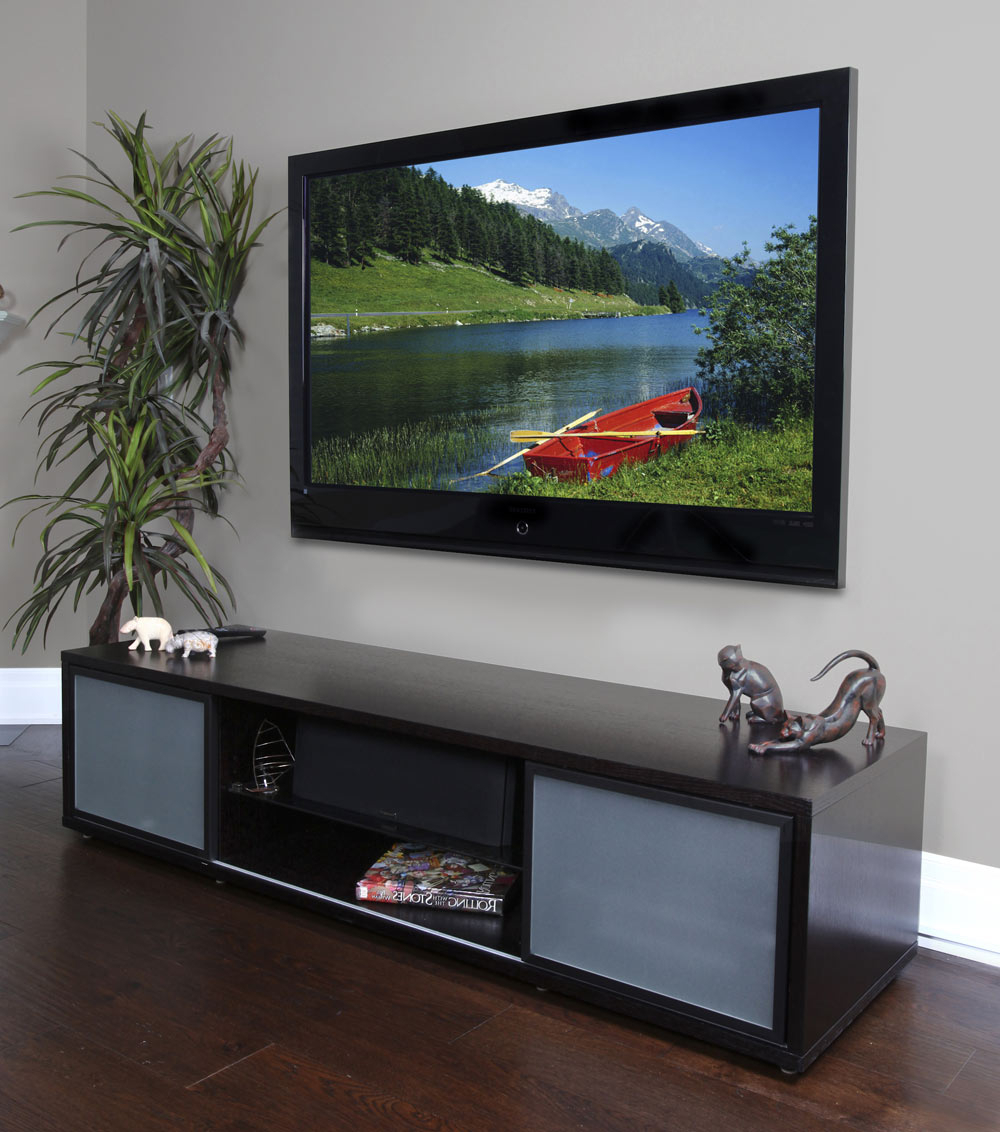 """75 Inch Tv Stand With Storage In Tv Stands With Trendy Chrissy Tv Stands For Tvs Up To 75"""" (View 5 of 25)"""