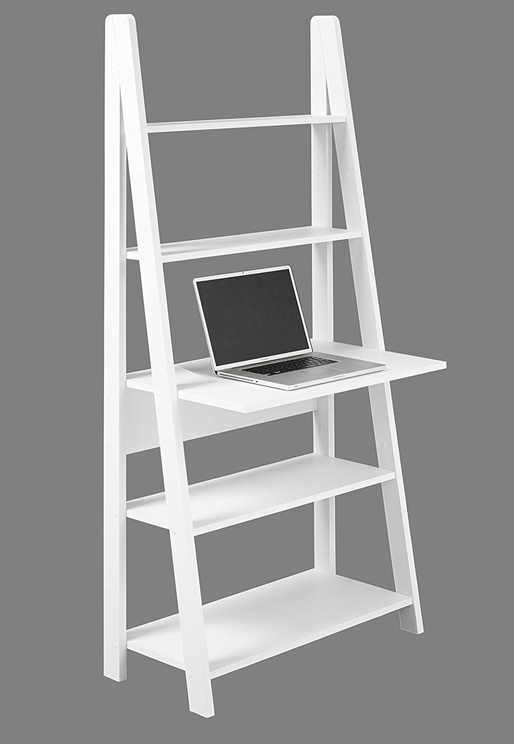 99+ Black Ladder Desk – Rustic Home Office Furniture Check Throughout Most Up To Date Tiva White Ladder Tv Stands (View 10 of 10)