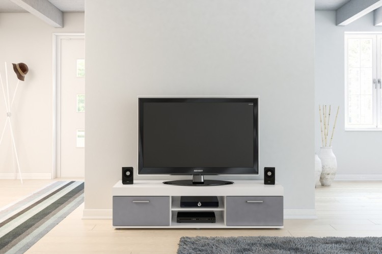 Grey Edgeware Small Tv Stands (View 1 of 6)