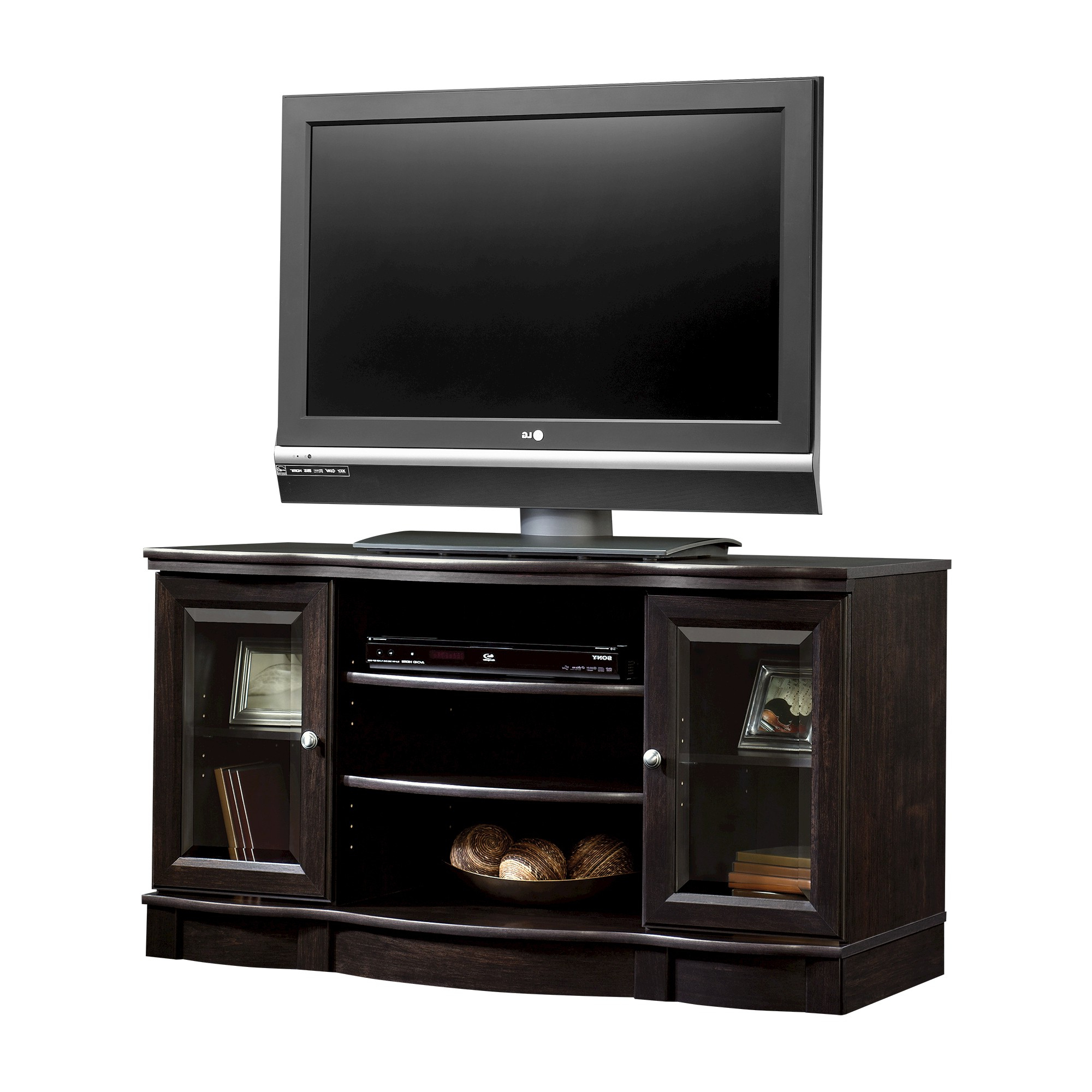 """Aaliyah Floating Tv Stands For Tvs Up To 50"""" Inside Famous Regent Place Panel Tv Stand For Tvs Up To 50"""" Estate Black (View 14 of 25)"""