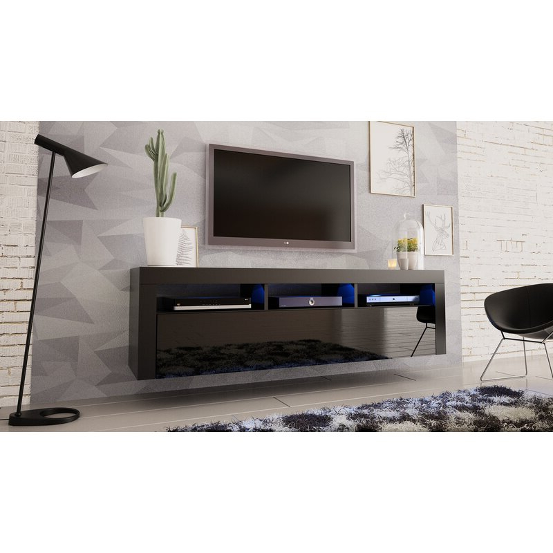 """Aaliyah Floating Tv Stands For Tvs Up To 50"""" Throughout Most Up To Date Orren Ellis Vesperina Floating Tv Stand For Tvs Up To  (View 2 of 25)"""