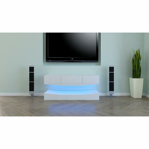 """Aaliyah Floating Tv Stands For Tvs Up To 50"""" With Regard To Widely Used Orren Ellis Caelynn Floating Tv Stand For Tvs Up To  (View 20 of 25)"""
