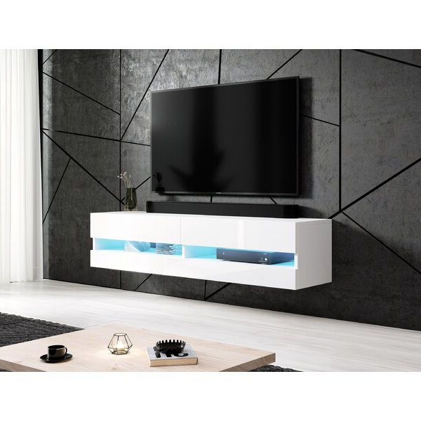 """Aaliyah Floating Tv Stands For Tvs Up To 50"""" With Well Liked Wrought Studio Shiraz Floating Tv Stand For Tvs Up To  (View 18 of 25)"""