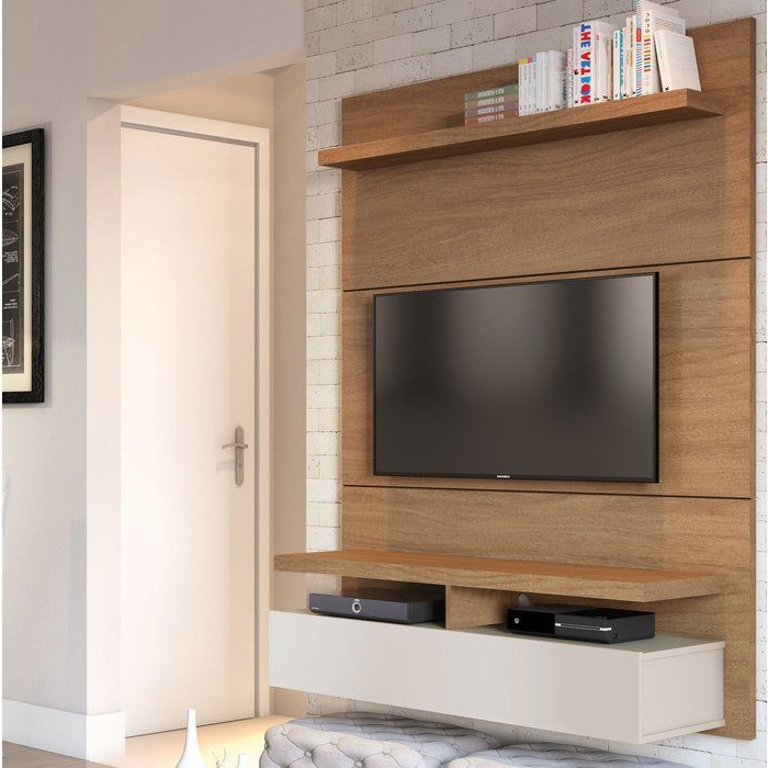 """Aaliyah Floating Tv Stands For Tvs Up To 50"""" Within Recent Newburyport Floating Entertainment Center For Tvs Up To  (View 17 of 25)"""