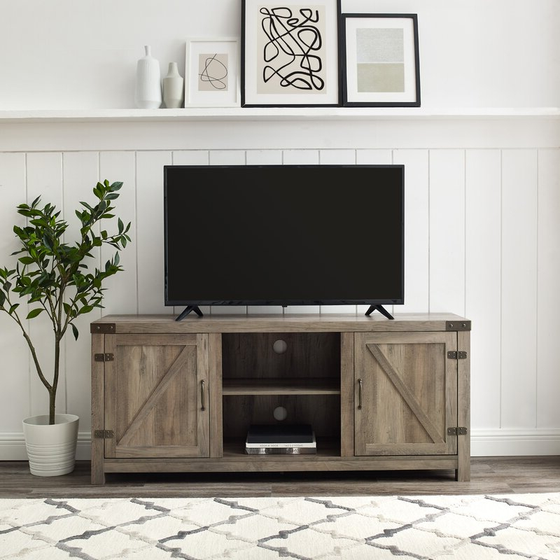"""Adalberto Tv Stands For Tvs Up To 78"""" Pertaining To Most Current Trent Austin Design® Adalberto Tv Stand For Tvs Up To  (View 1 of 25)"""