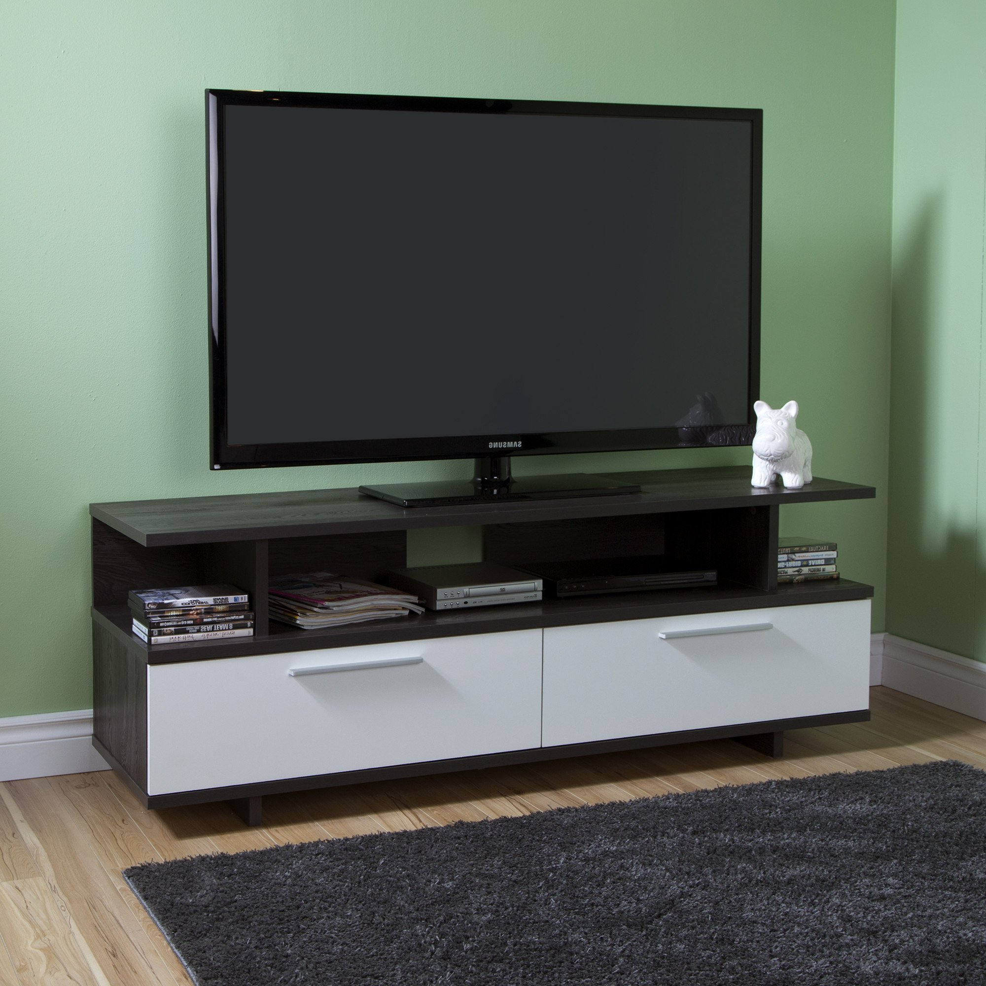 """Adayah Tv Stands For Tvs Up To 60"""" With Regard To Latest Reflekt Tv Stand With Drawers, For Tvs Up To 60 Inches (View 4 of 25)"""