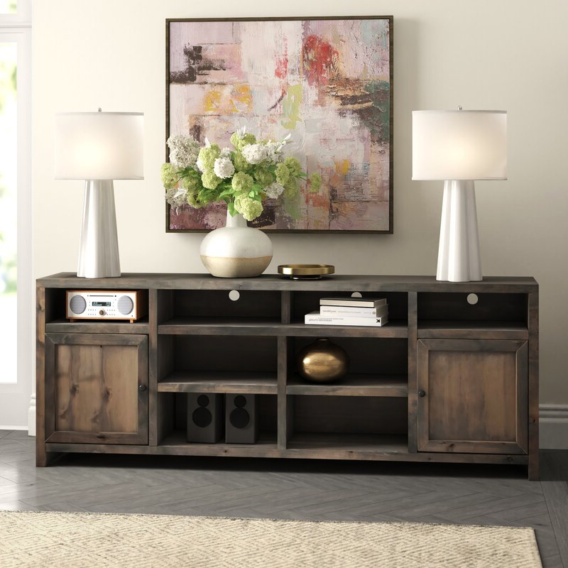 """Ailiana Tv Stands For Tvs Up To 88"""" Intended For 2018 Aubree Tv Stand For Tvs Up To 88"""" & Reviews (View 21 of 25)"""