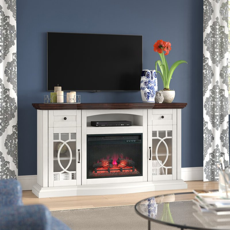 """Alcott Hill® Bottomley Tv Stand For Tvs Up To 65"""" With Regarding Famous Hetton Tv Stands For Tvs Up To 70"""" With Fireplace Included (View 5 of 25)"""