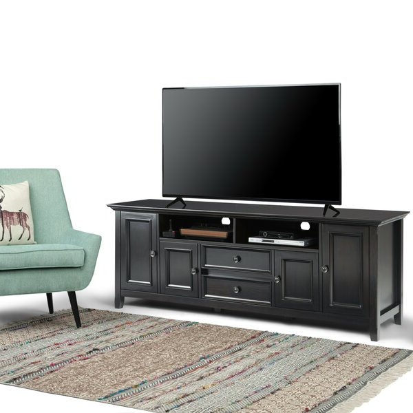 """Alcott Hill® Mccoppin Solid Wood Tv Stand For Tvs Up To 78 For Latest Ansel Tv Stands For Tvs Up To 78"""" (View 6 of 25)"""