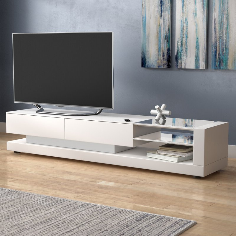"""Allmodern With Latest Grandstaff Tv Stands For Tvs Up To 78"""" (View 22 of 25)"""