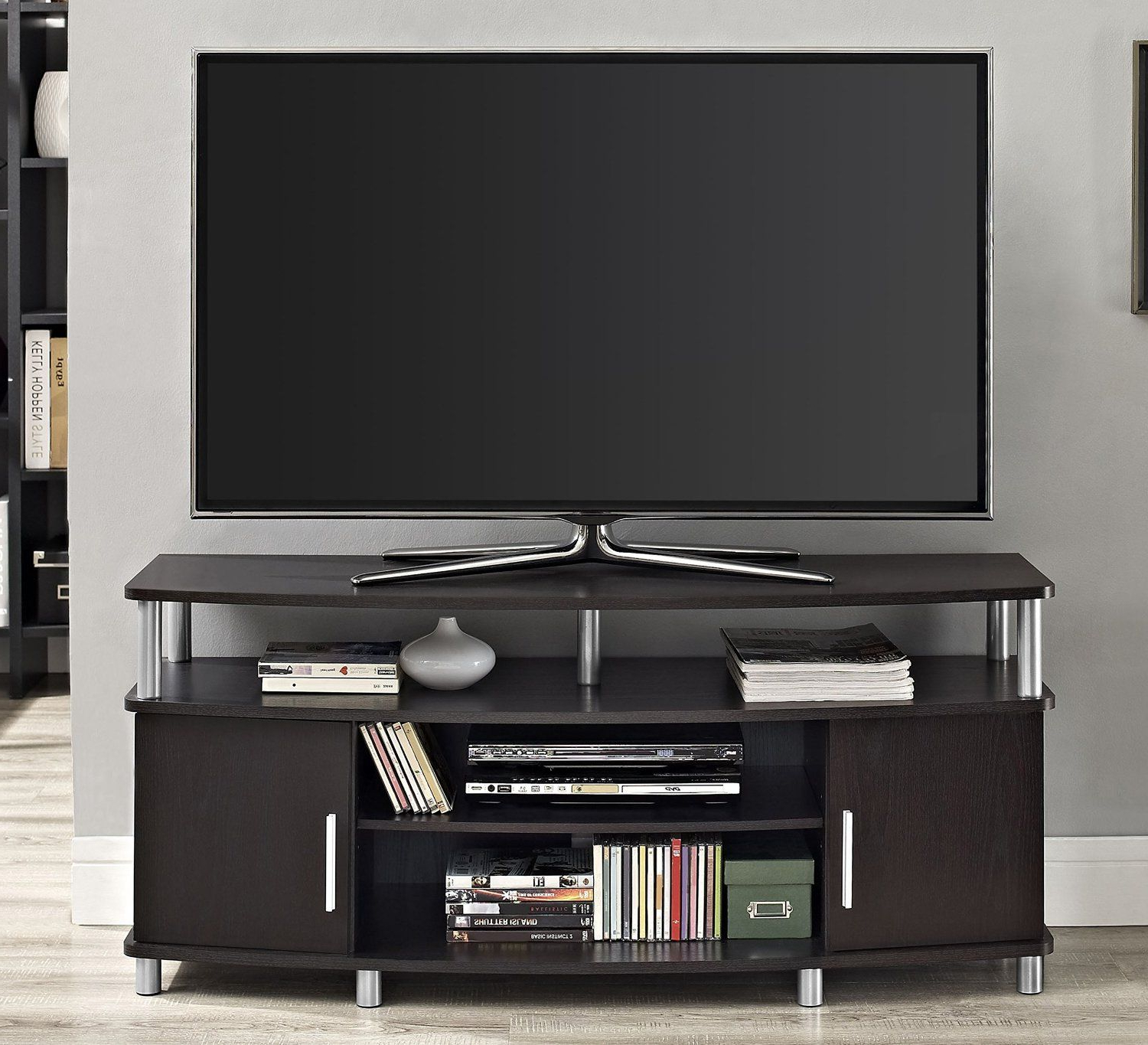 """Amazon: Altra Furniture Carson Tv Stand, For Tv's Up Regarding Most Current Tv Stands For Tvs Up To 50"""" (View 3 of 25)"""