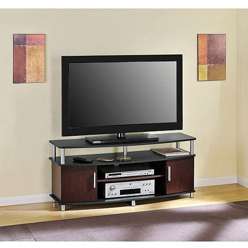 """Ameriwood Home Carson Tv Stands With Multiple Finishes Regarding Favorite Carson Tv Stand, For Tvs Up To 50"""", Multiple Finishes (View 3 of 10)"""