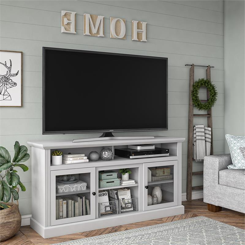 """Ameriwood Home Chicago Tv Stand For Tvs Up To 65"""" In Dove With Regard To Well Liked Neilsen Tv Stands For Tvs Up To 65"""" (View 9 of 25)"""