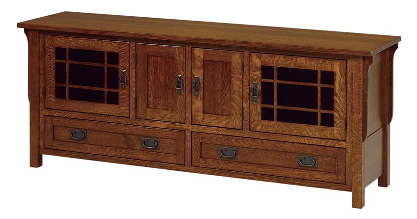 Amish Lancaster Mission Large Tv Stand Pertaining To Most Up To Date Lancaster Small Tv Stands (View 4 of 10)