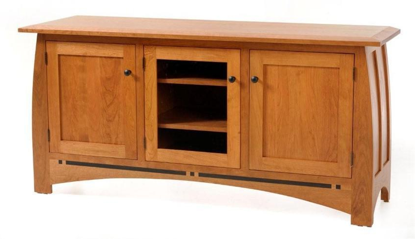 """Amish Vineyard Entertainment Center Regarding 2017 Casey May Tv Stands For Tvs Up To 70"""" (View 20 of 25)"""