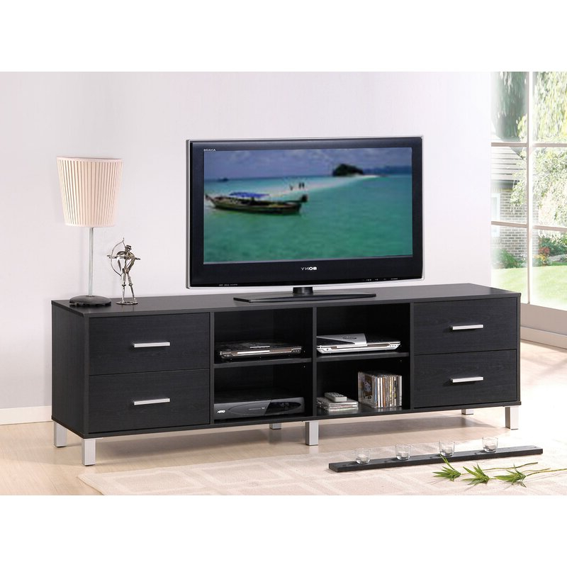 """Ansel Tv Stands For Tvs Up To 78"""" Throughout Preferred Orren Ellis Neihart Tv Stand For Tvs Up To 78"""" (View 21 of 25)"""
