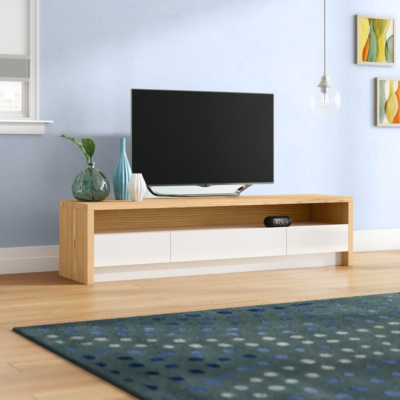 """Ansel Tv Stands For Tvs Up To 78"""" Within Recent Orren Ellis Makiver Tv Stand For Tvs Up To 78"""" & Reviews (View 11 of 25)"""