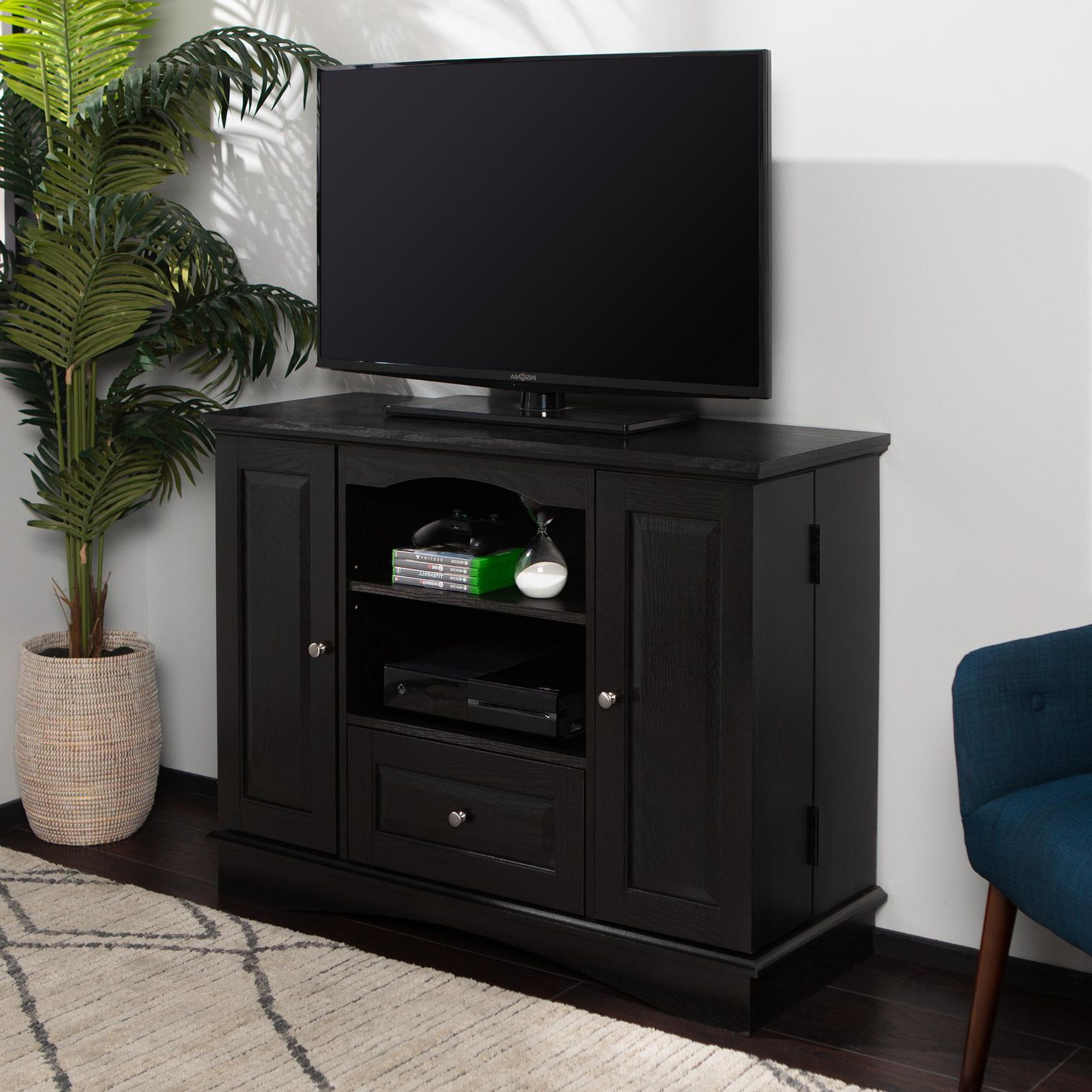 """Antea Tv Stands For Tvs Up To 48"""" Pertaining To Well Known Manor Park Highboy Tv Stand And Media Storage For Tvs Up (View 4 of 25)"""