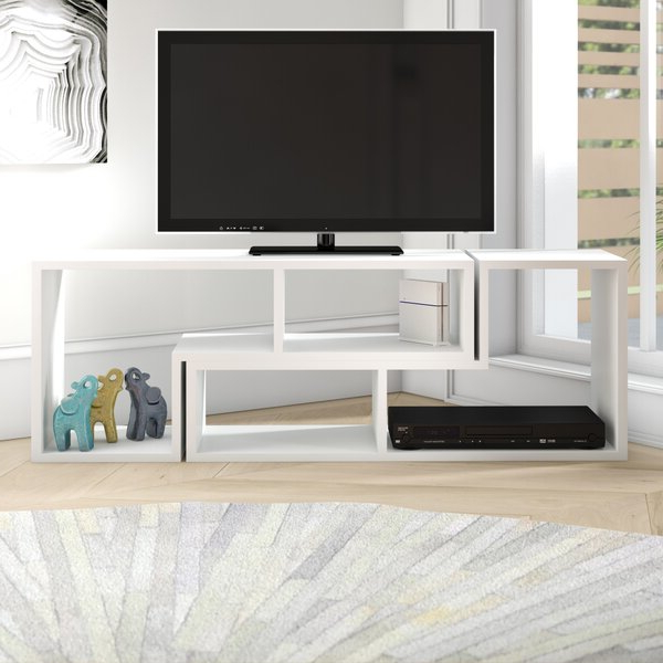 """Baba Tv Stands For Tvs Up To 55"""" With Regard To Current Ebern Designs Bynum Tv Stand For Tvs Up To 55"""" & Reviews (View 12 of 25)"""