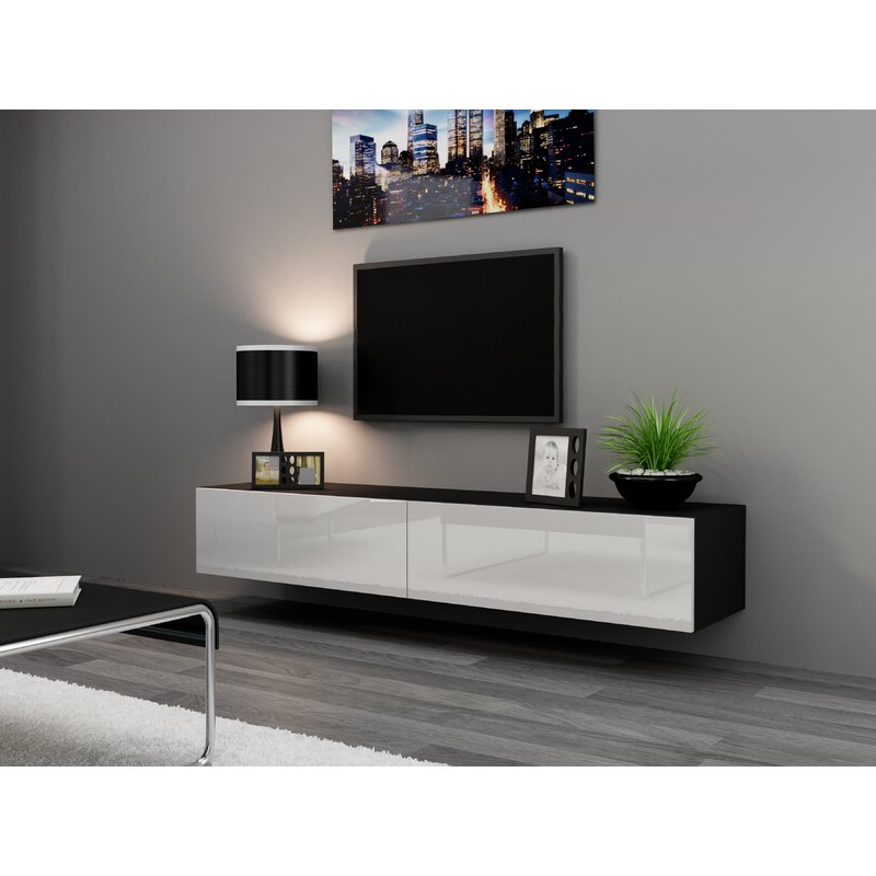 """Best And Newest Ansel Tv Stands For Tvs Up To 78"""" Regarding Orren Ellis Agoura Floating Tv Stand For Tvs Up To  (View 13 of 25)"""