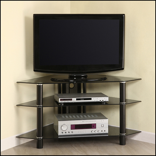 """Best And Newest Antea Tv Stands For Tvs Up To 48"""" With Best Buy: Walker Edison Corner Tv Stand For Tvs Up To  (View 16 of 25)"""