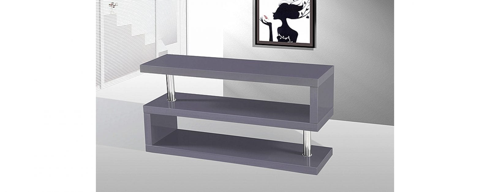 Best And Newest Charisma Tv Stands With Charisma Tv Stand In Grey High Gloss (View 10 of 10)