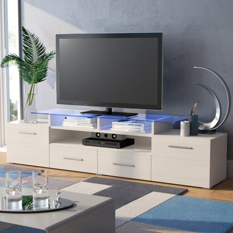 """Best And Newest Chrissy Tv Stands For Tvs Up To 75"""" Within Orren Ellis Damian Tv Stand For Tvs Up To 75"""" & Reviews (View 22 of 25)"""