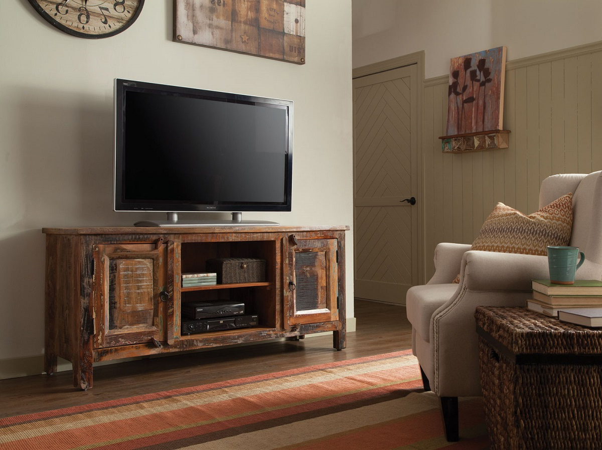 Best And Newest Create Your Entertainment Center With This Tv Stand From Within Entertainment Center Tv Stands Reclaimed Barnwood (View 8 of 10)