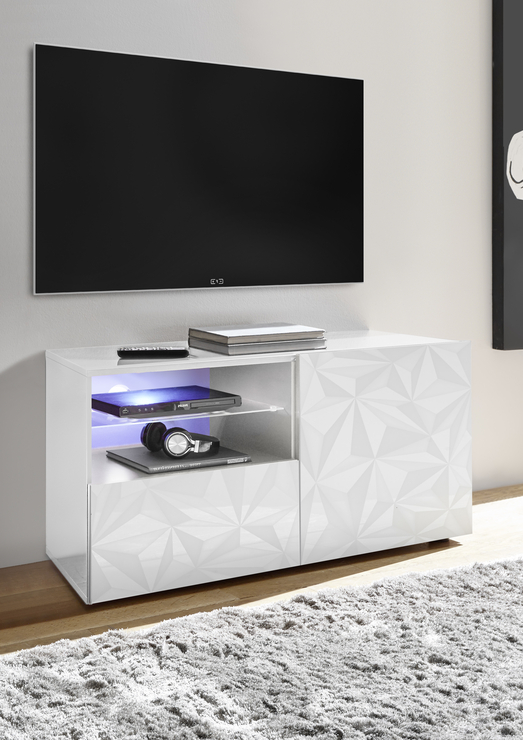 Best And Newest Edgeware Tv Stands With Regard To Grey Sideboard Tv Unit – The Door Knockers (View 24 of 25)