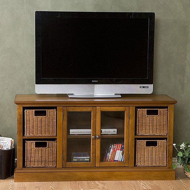 Best And Newest Entertainment Center With Storage Baskets – 12058323 For Jakarta Tv Stands (View 7 of 10)
