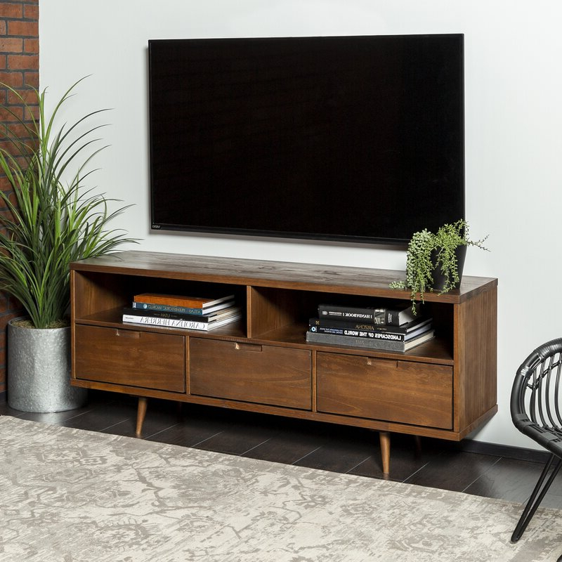 """Best And Newest George Oliver Gervais Tv Stand For Tvs Up To 65"""" & Reviews With Tv Stands For Tvs Up To 65"""" (View 14 of 22)"""