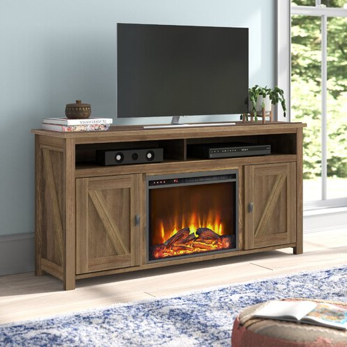 """Best And Newest Lorraine Tv Stands For Tvs Up To 60"""" With Fireplace Included With Mistana™ Whittier Tv Stand For Tvs Up To 60"""" With (View 11 of 25)"""