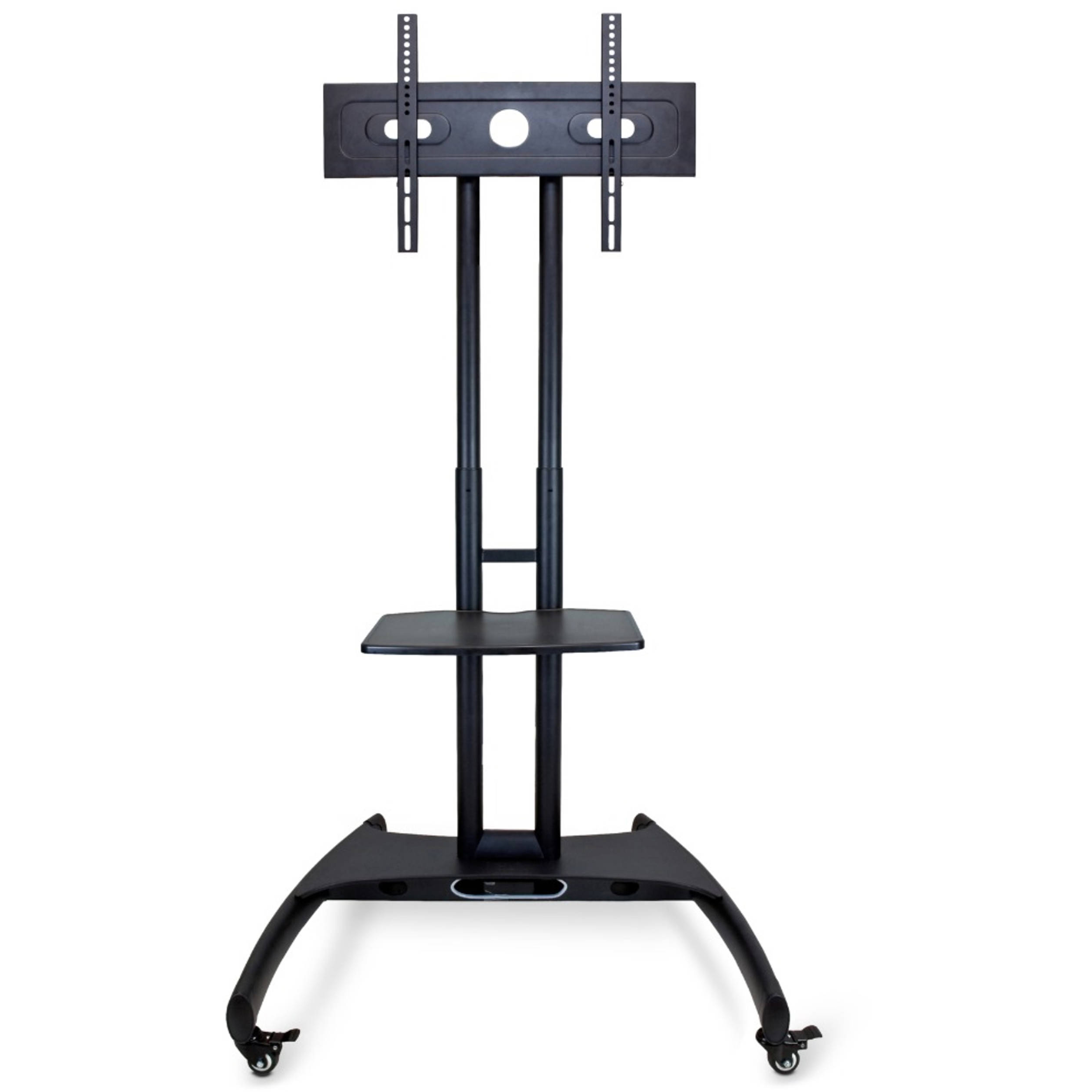 Best And Newest Swivel Floor Tv Stands Height Adjustable Within Luxor Fp2500 Adjustable Height Lcd Tv Stand Fp2500 B&h Photo (View 8 of 10)