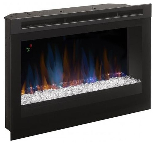 """Boston 01 Electric Fireplace Modern 79"""" Tv Stands Throughout Newest Dimplex Haley Media Console Electric Fireplace With (View 1 of 10)"""