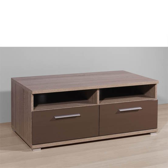 Boston Gloss Brown Plasma Tv Stand, 2214 168 18355 For Newest Boston Tv Stands (View 6 of 10)