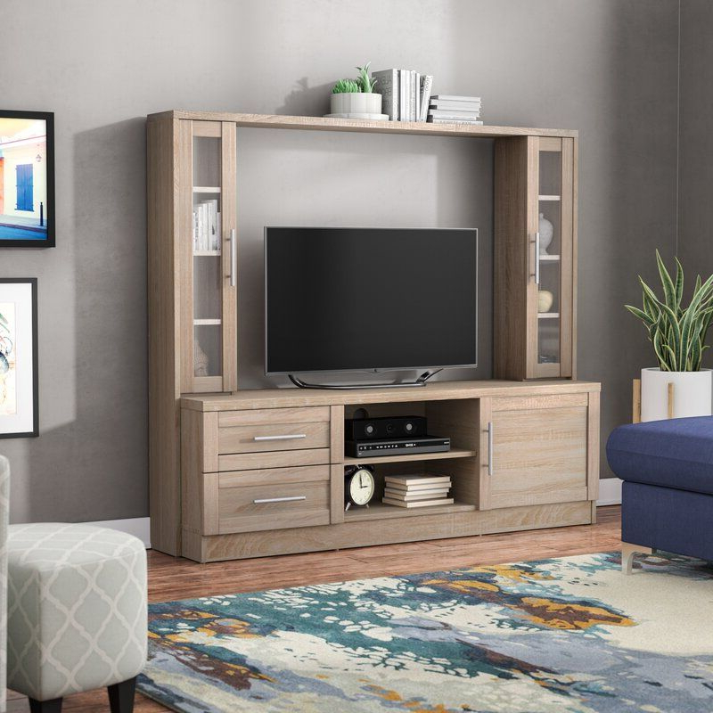 """Bowery Entertainment Center For Tvs Up To 50"""" In 2020 Within Widely Used Aaliyah Floating Tv Stands For Tvs Up To 50"""" (View 3 of 25)"""
