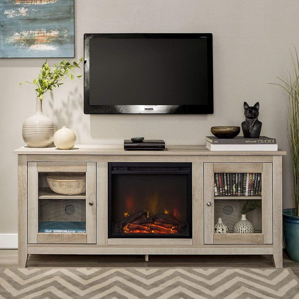 Bromley Extra Wide Oak Tv Stands With Regard To Newest Pin On Best Electric Fireplace Tv Stand (View 21 of 25)