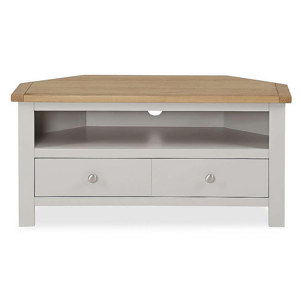 Bromley Grey Corner Tv Stand (View 4 of 25)