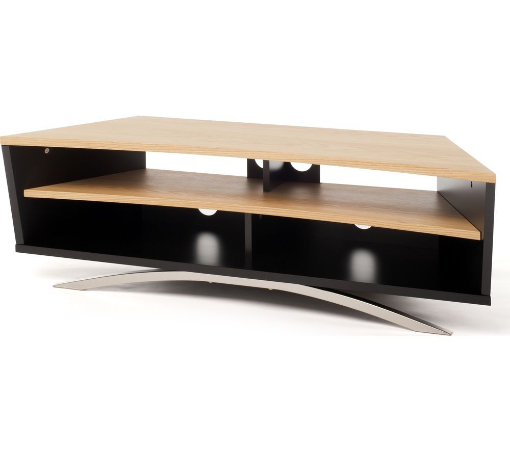 Bromley Oak Tv Stands Intended For Latest Techlink Prisma Pr130sblo Tv Stand (View 21 of 25)