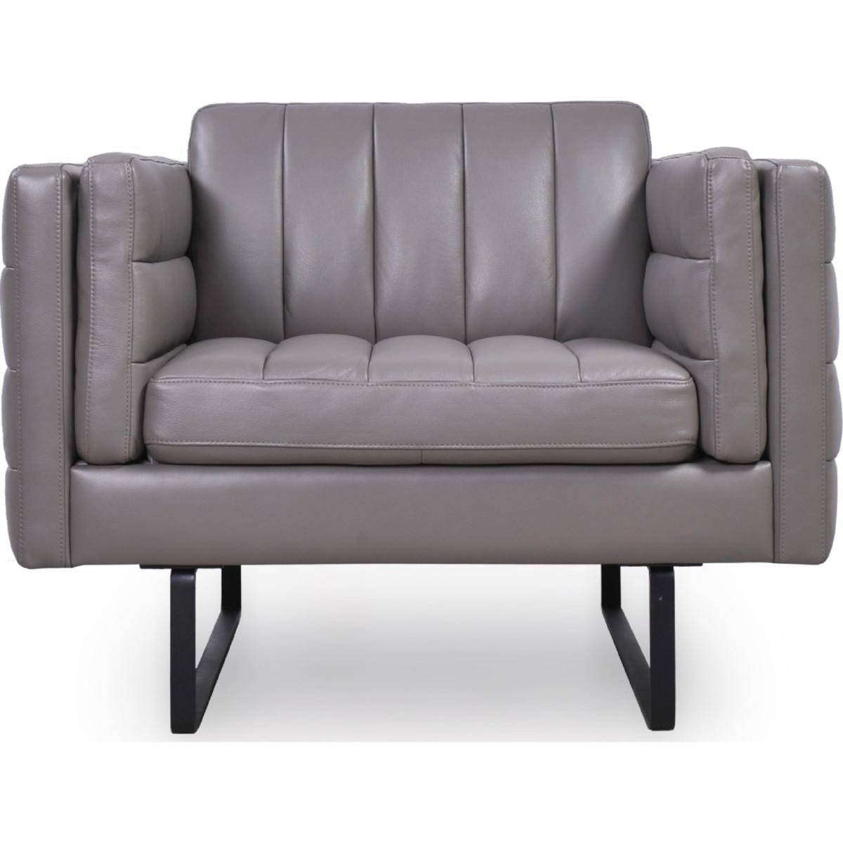Buy Moroni Orson 582 Arm Chairs In Gray, Top Grain Leather For Favorite Orsen Tv Stands (View 10 of 25)