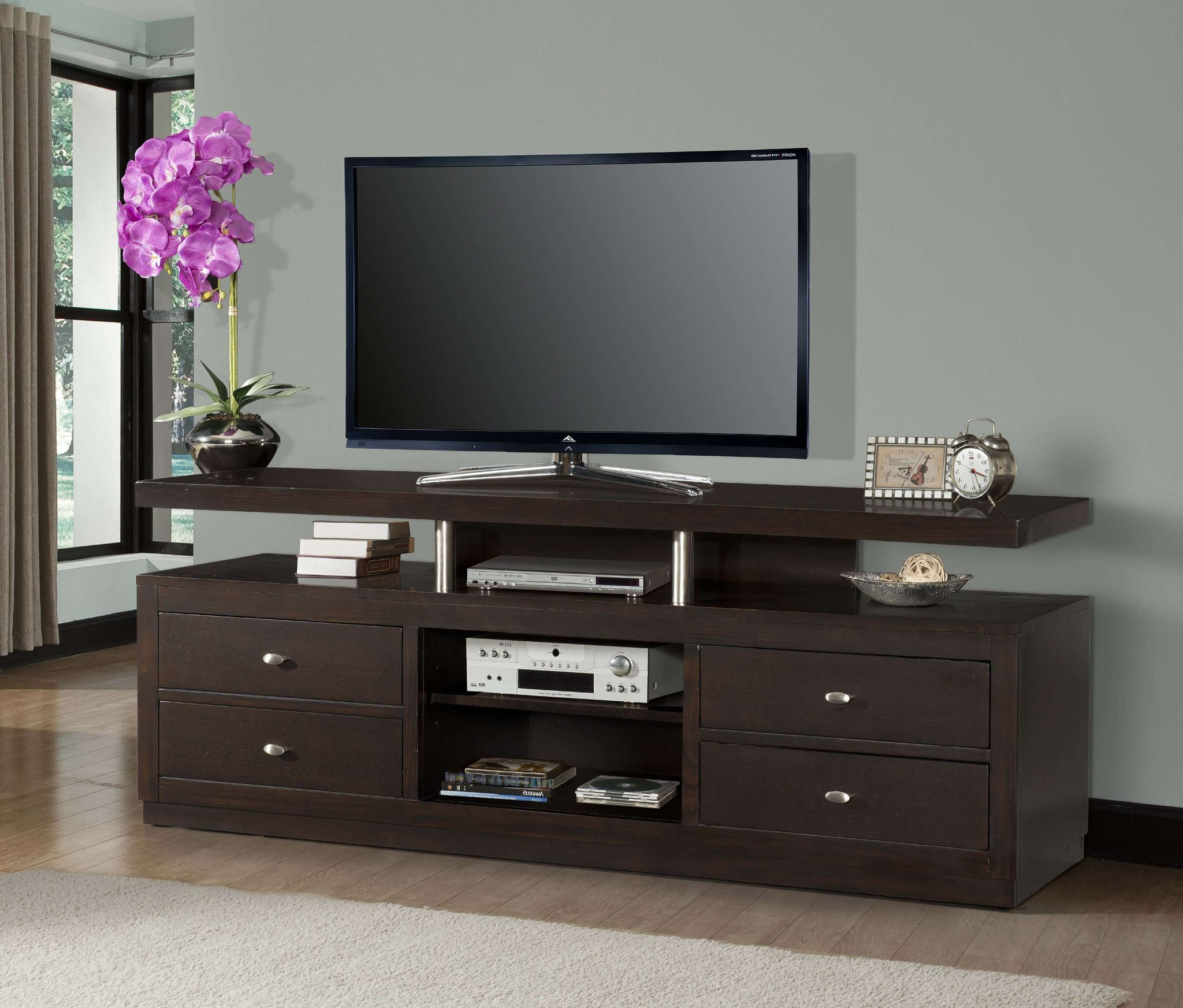 Buy My House, Tv In Well Known Tiva Oak Ladder Tv Stands (View 4 of 10)