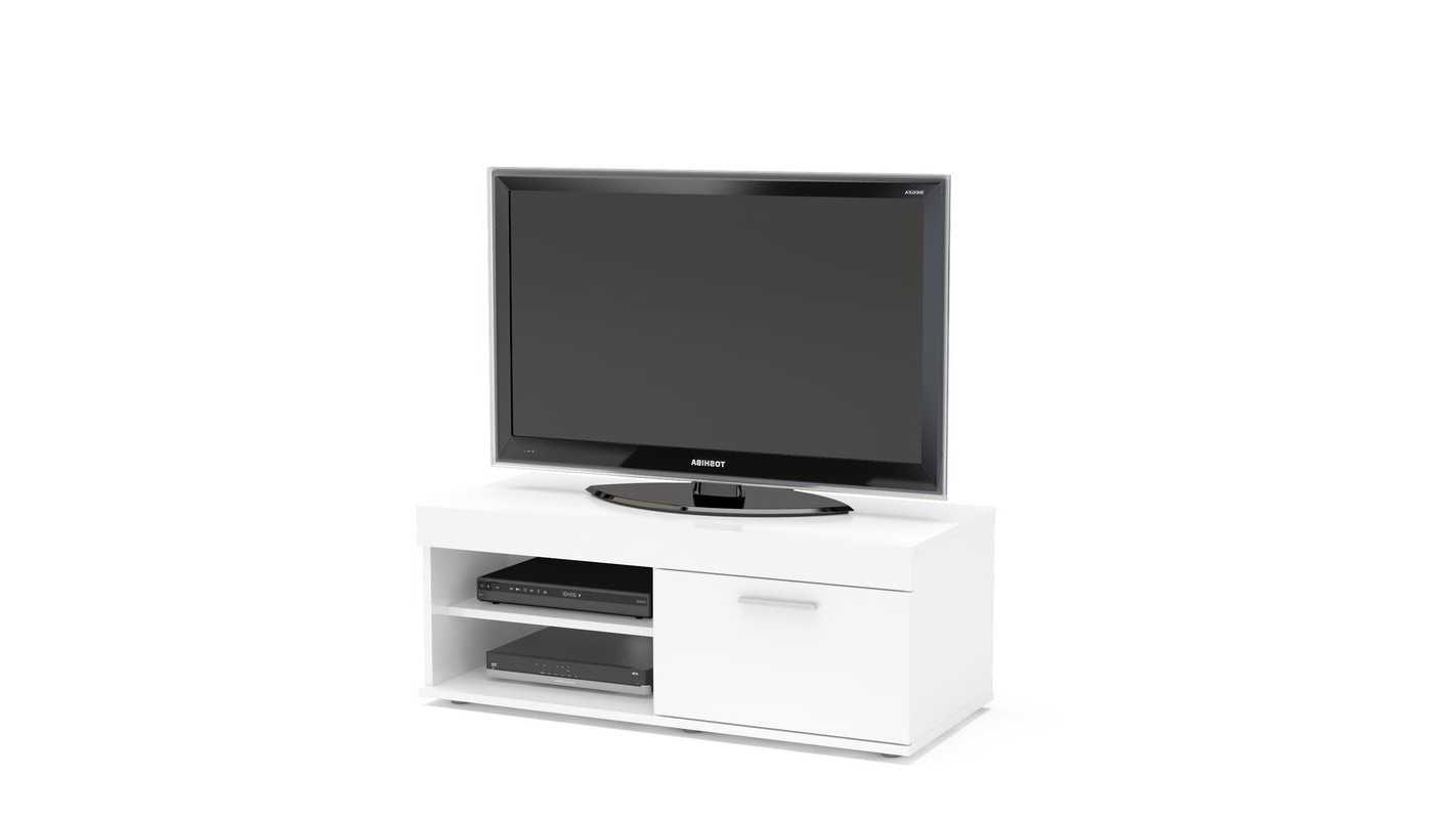 Carbon Tv Unit Stands With Fashionable Birlea Edgeware Small Tv Entertainment Unit White Gloss (View 6 of 10)